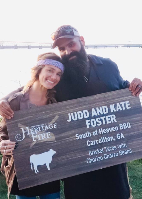 Judd and Kate Foster